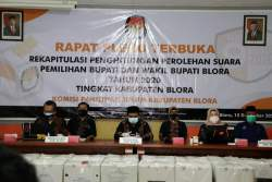 KPU Gelar Rapat Pleno Terbuka Pilkada Blora