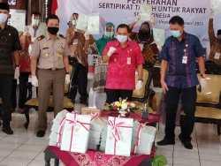 Program Sertifikasi Tanah PTSL di Kabupaten Semarang Tuntas