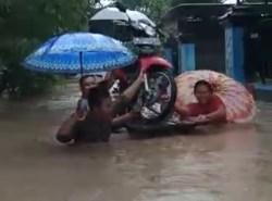 4 Kecamatan di Sragen Dilanda Banjir Akibat Meluapnya Bengawan Solo
