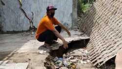 Dampak Banjir Bandang di Sragen, Sejumlah Tanah Permukiman Ambles