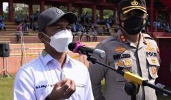 Bersama Jajaran TNI-Polri, Pemkab Batang Berkomitmen Gelar Vaksinasi Keliling ke Tingkat Desa