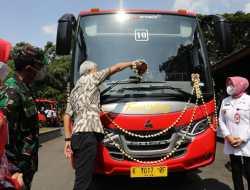 Info Penting. BRT Trans Jateng Rute Semarang-Godong Diresmikan Gubernur Ganjar dan Bupati Grobogan. Ganjar : Pemerintah Daerah Harus Siapkan Angkutan Terusan
