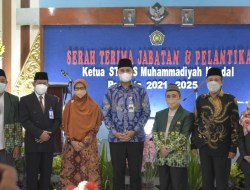 Hadiri Pelantikan Ketua STIKES Muhammadiyah Kendal, Bupati Dico Beri Dukungan Berdirinya Universitas