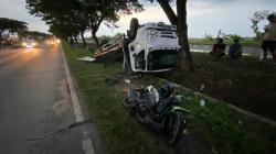 Kecelakaan di Jalur Pantura Demak, Pengendara Motor Tewas Usai Ditabrak