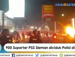 Kerusuhan Suporter PSS Sleman di Solo. Nekat Lempari Polisi dengan Batu. Dibubarkan dengan Gas Air Mata