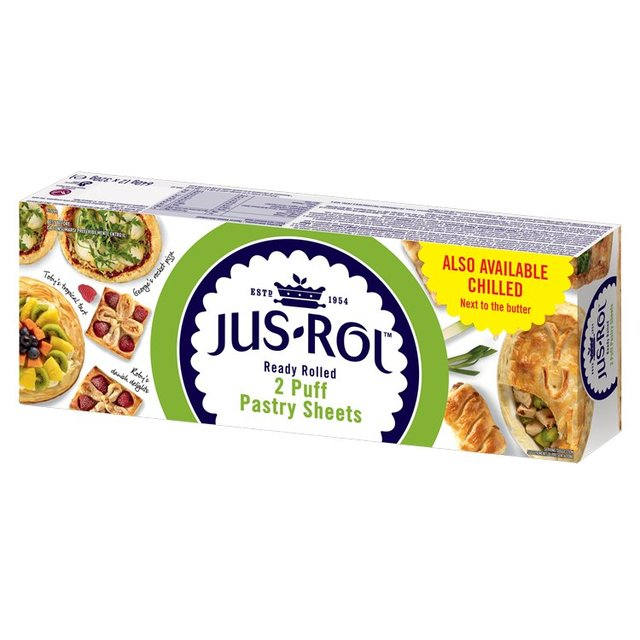 Jus Rol Frozen Puff Pastry Ready Rolled Sheets Morrisons