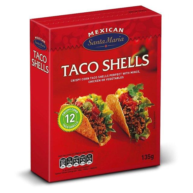 Box of Santa Maria corn taco shells