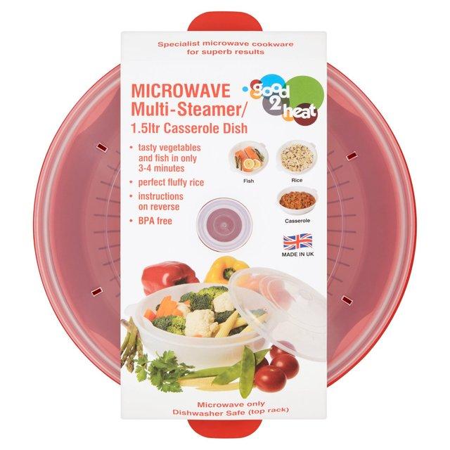 good 2 heat microwave steamer morrisons