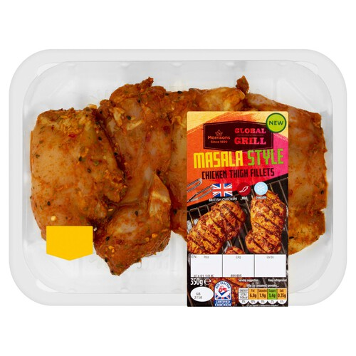 Morrisons Masala Style Thigh Fillets