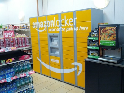 Amazon Locker at Baltoro, 345 West 42nd st, Manhattan NYC
