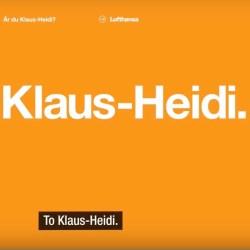 Are you Klaus-Heidi?