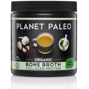 Kruiden Bone Broth Collagen Protein Herbal Defence Bio potje