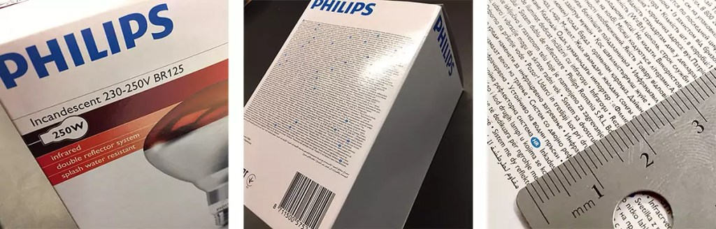 philips te kleine font