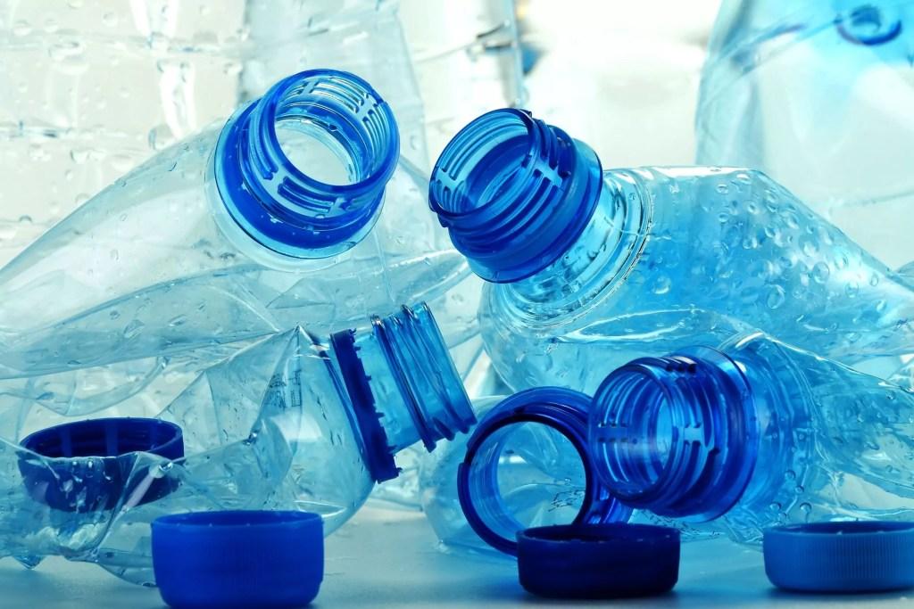 Plastiek flessen hergebruiken