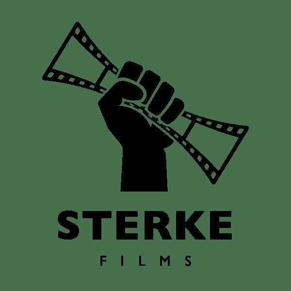 logo sterke films zwart