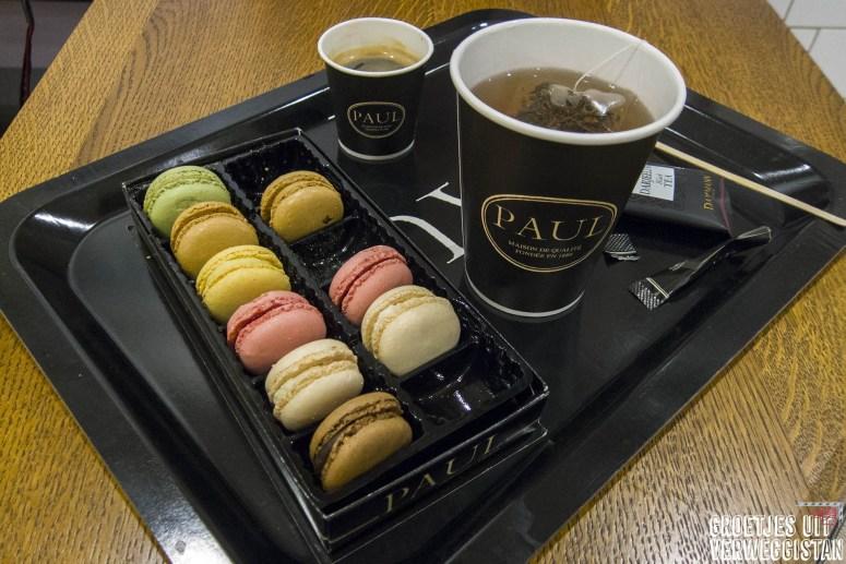 Macarons Parijs wat kost een citytrip