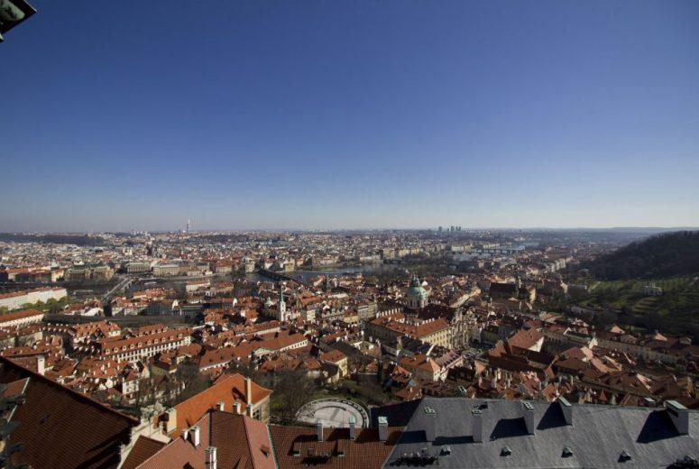 Klokkentoren Burcht van Praag