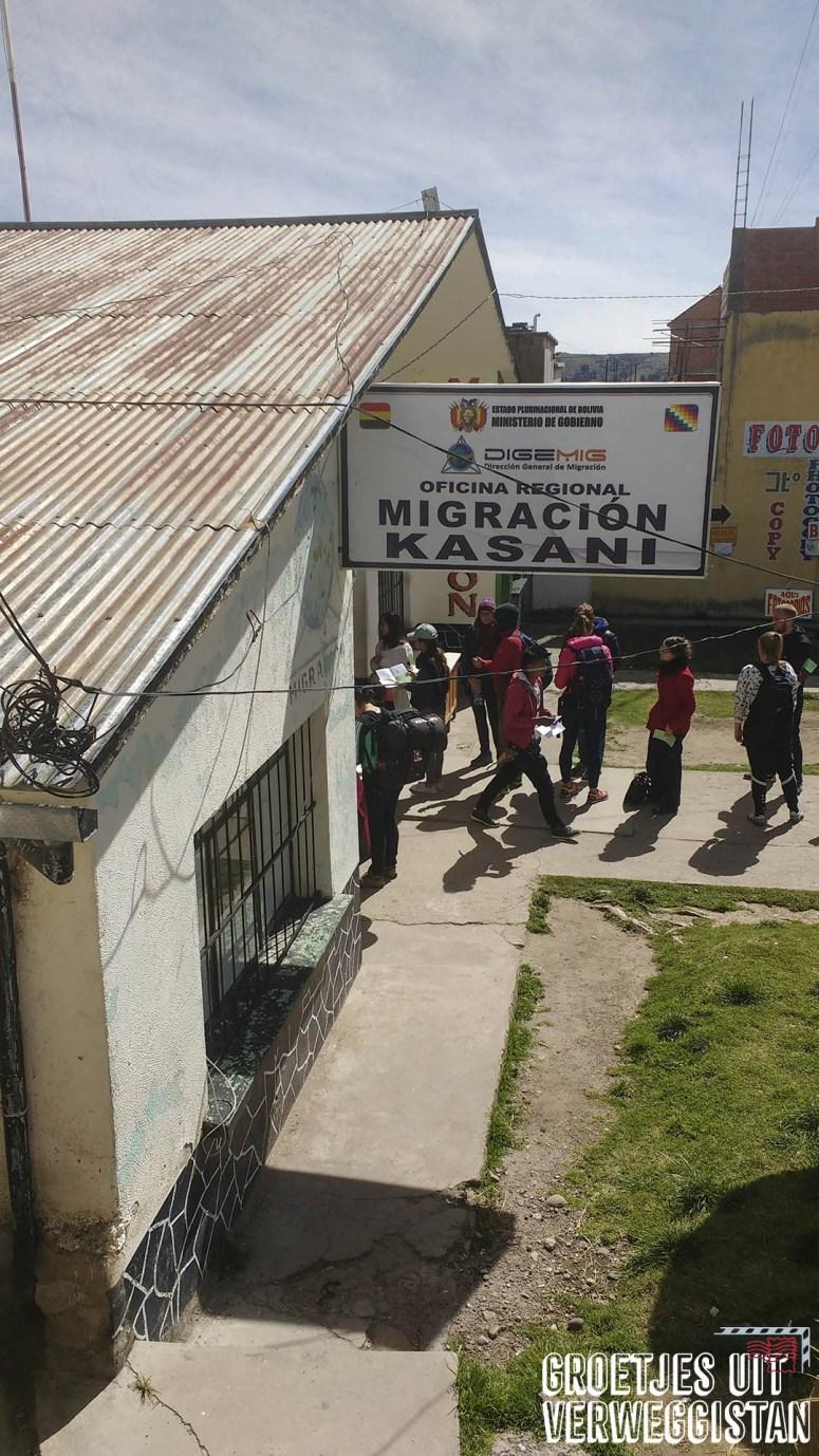 Immigratiekantoor Bolivia