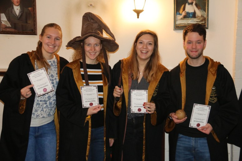 Harry Potter escape room in Londen: Enigma Quest escape room gehaald