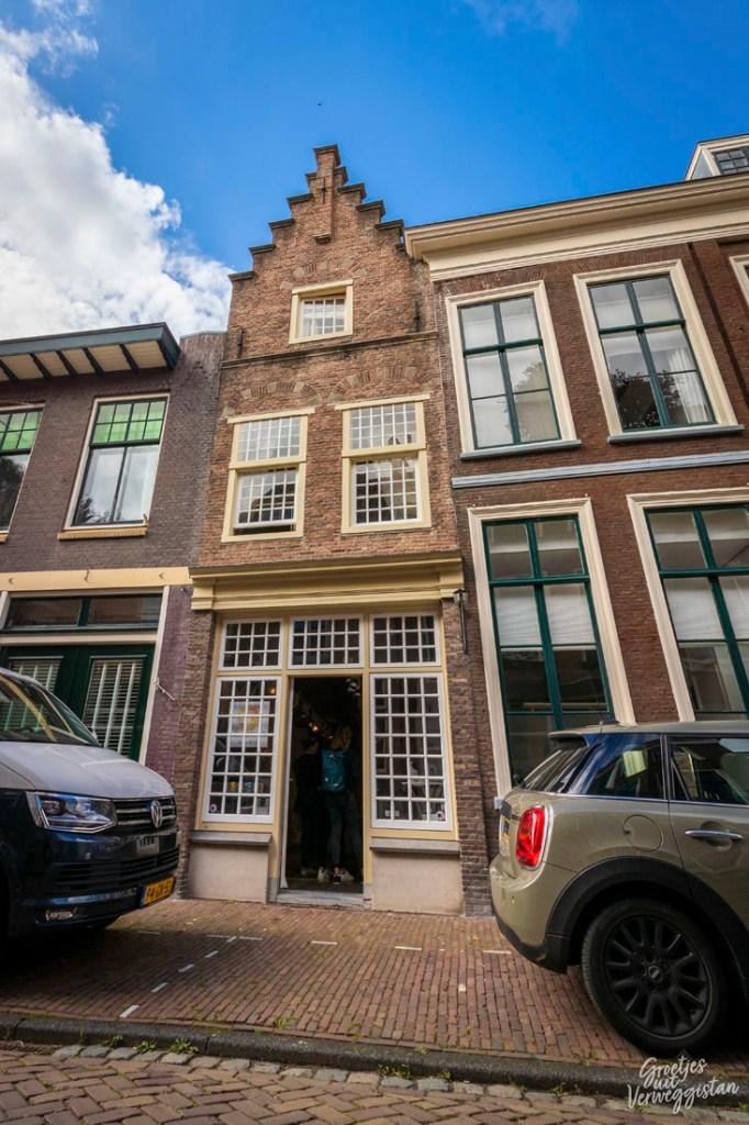 Young Rembrandt Studio aan de Langebrug in Leiden