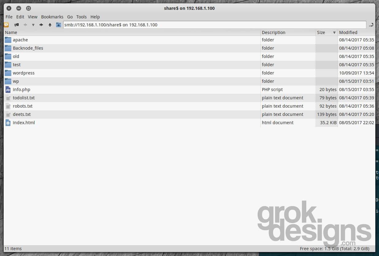 VulnHub Walk-through – LazySysAdmin: 1 – Grok Designs