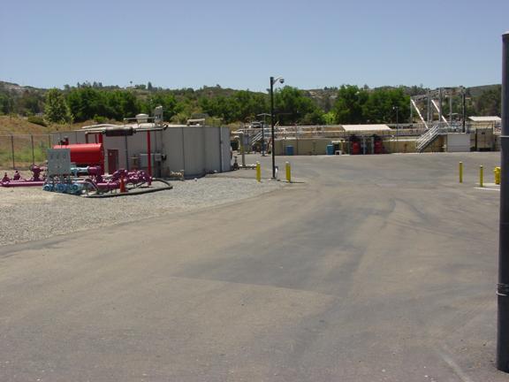 Viejas water treatment plant