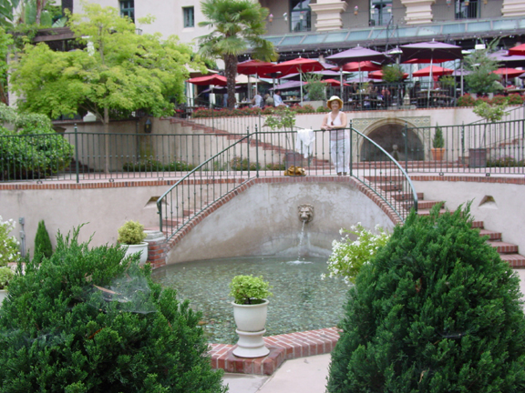 Casa del Prado patio
