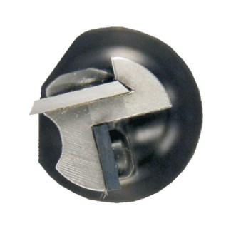 Fréza je vybavená zavrtávacou žiletkou, ktorá uľahčuje zavrtávanie do materiálu.