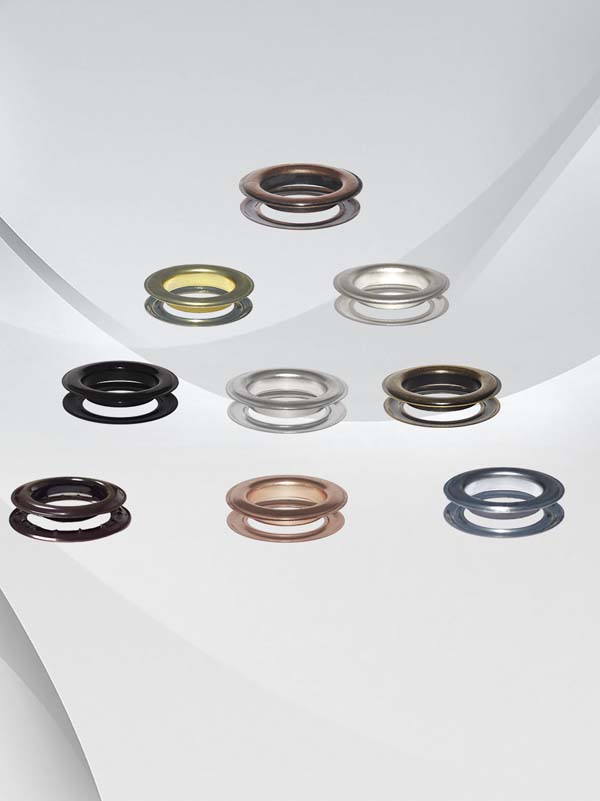 Metal #12 (1- 1/2'') Round Style Grommets & Washers