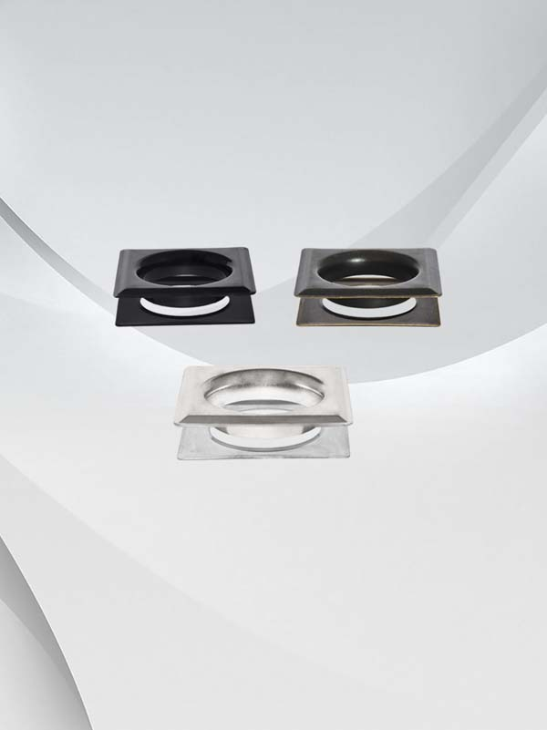 Metal #12 (1- 1/2'') Square Style Grommets & Washers