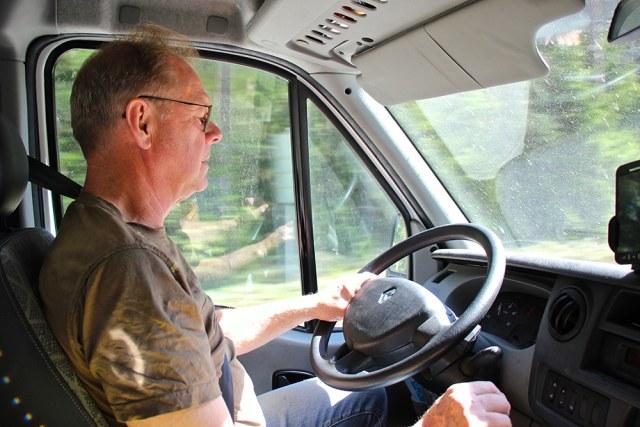 Lennart Westerdahl bakom ratten, Gröna Hagars Kött.