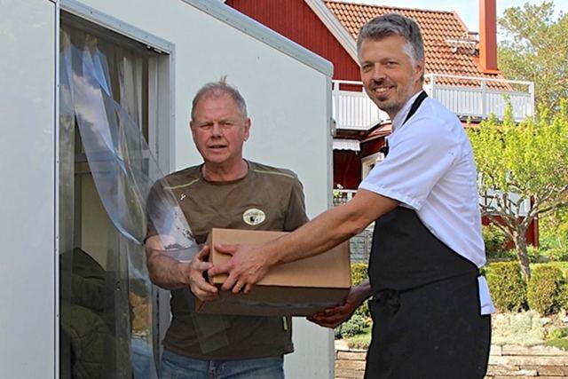 Gröna Hagars Kött levererar till Hotell Kristina i Sigtuna.