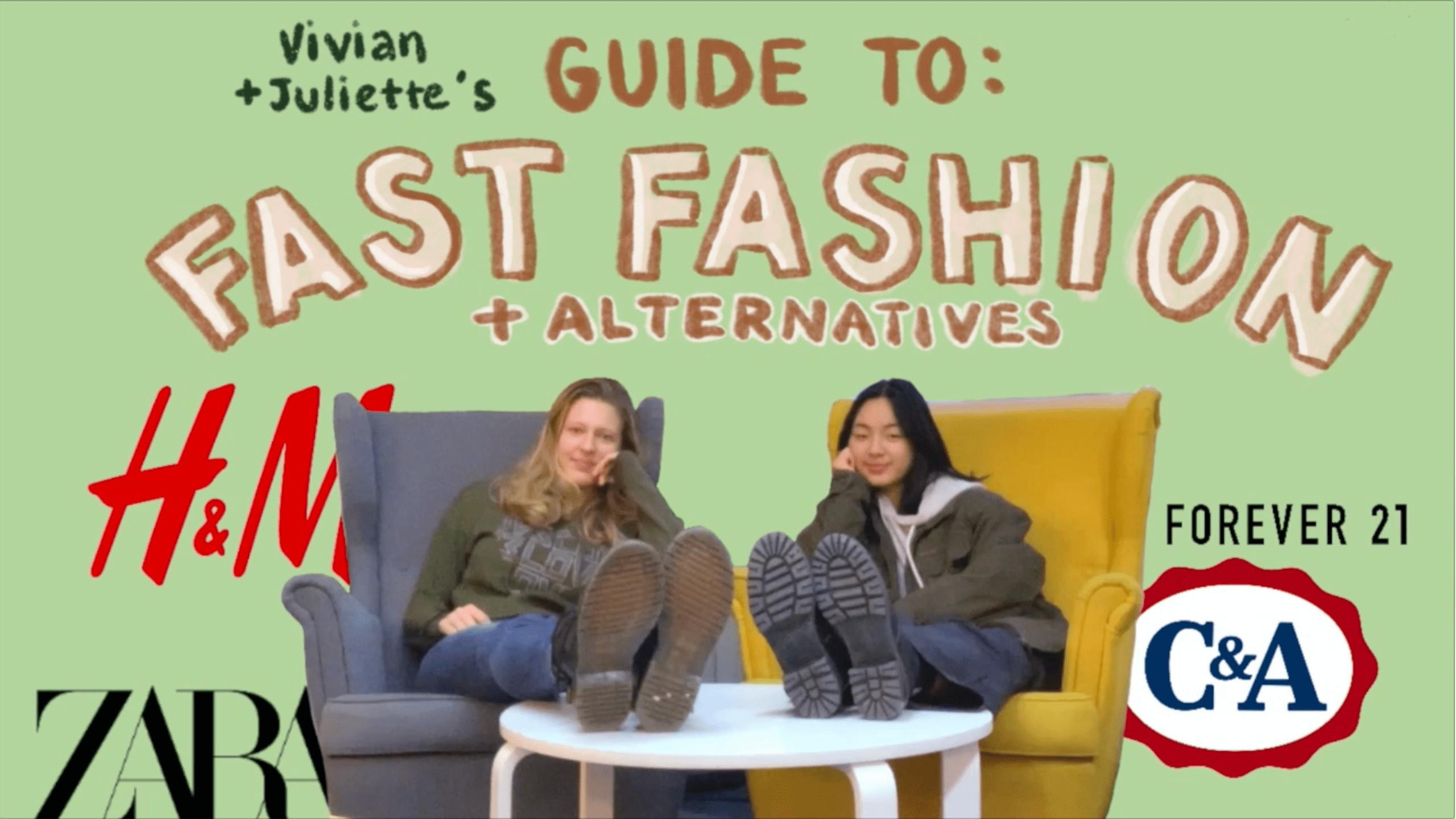 fast fashion Juliette Vivian