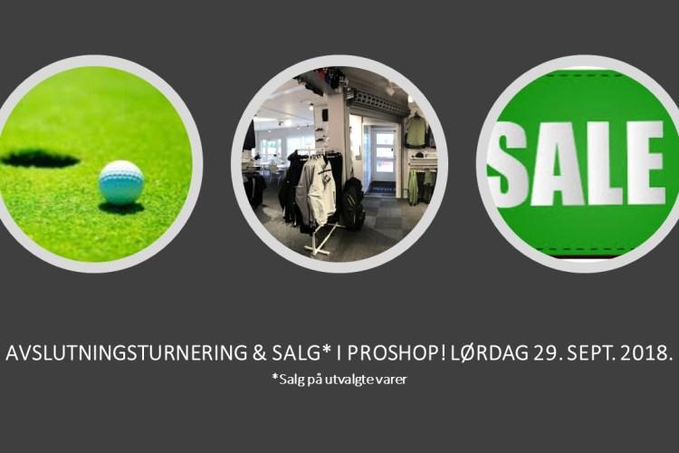 AVSLUTNINGSTURNERING – SISTE PÅMELDING IDAG, TORSDAG 27. KL. 18.00!