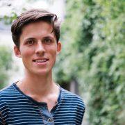Tor Grobstok, leder av Grønne Studenter