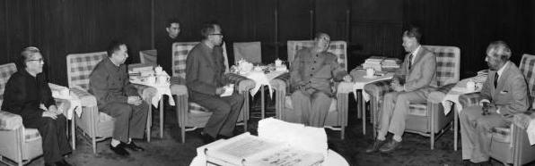 毛沢東とリー・クアンユー