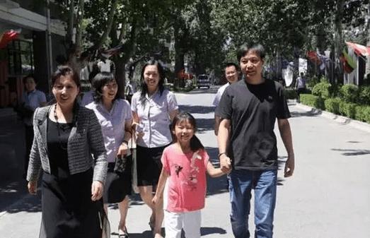 雷軍と子供、家族