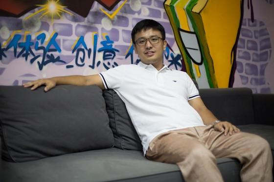"""""""饿了么""""のCEOである張旭豪"""