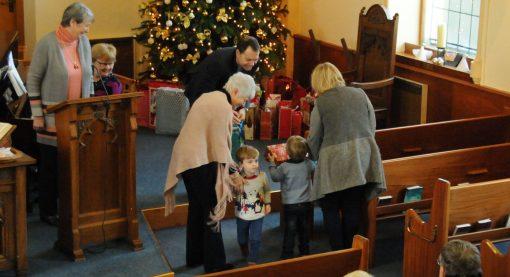 Groomsport Presbyterian Church gift service 2017