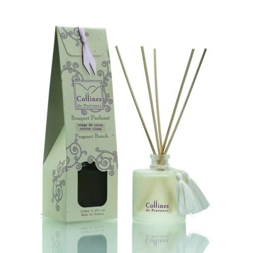 Collines de Provence, Cotton Cloud, geurstokjes Linnenkast geuren