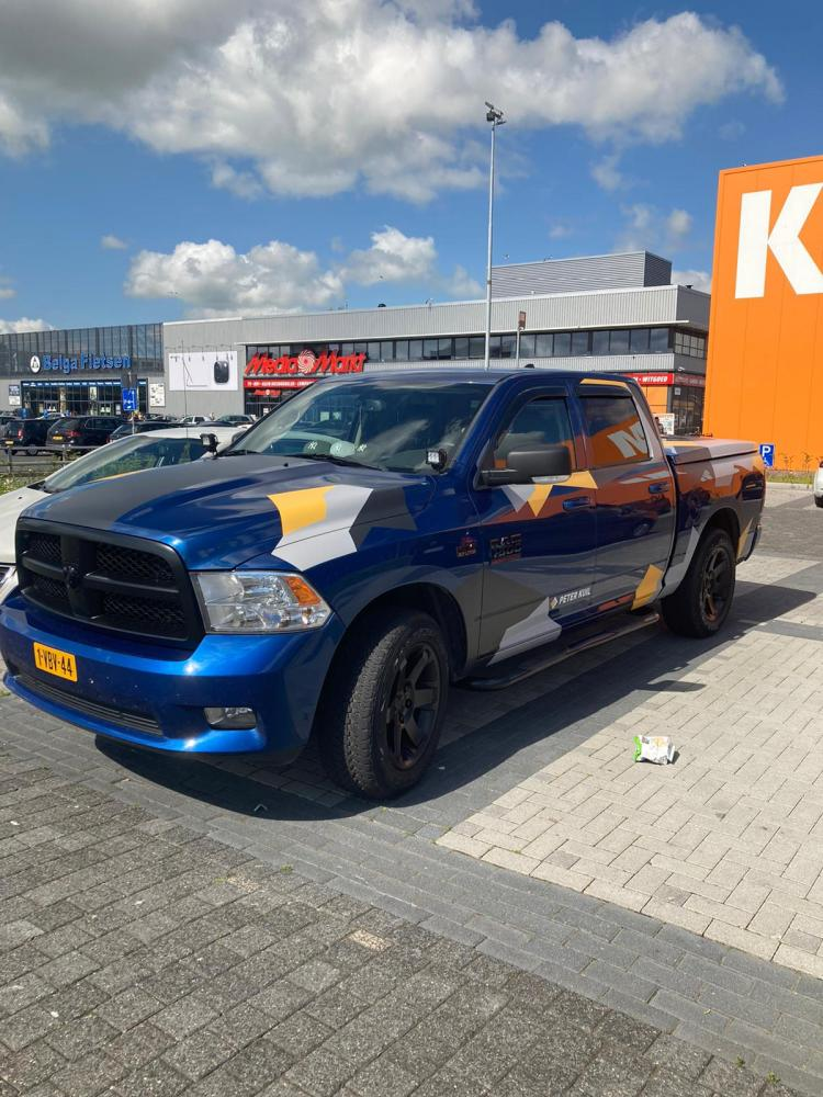 Wrap Dodge Ram Groningen