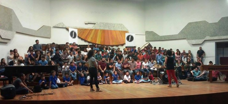 Guatemala City Youth Improvisation Workshop 2016