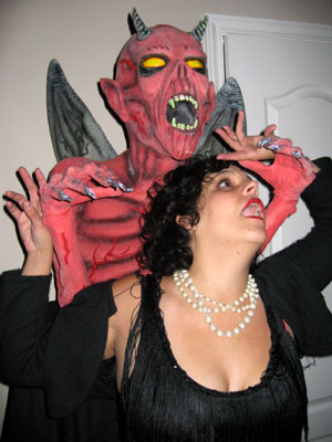 Flapper Attacked By Demon