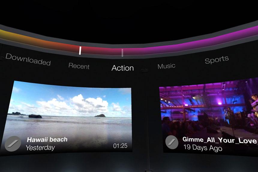 Samsung VR Video Player