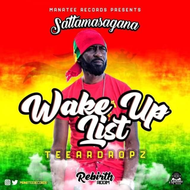 Groovy reggae at it's best as Teeardropz aka Jonathan Brown drops 'Wake up list'
