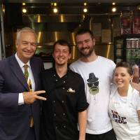 The Hip Hop Chip Shop are in the Guardian and also have won a prize