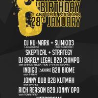 Slimkid3, DJ Nu-Mark, Kutmah plus shitloads more @ Hit and Run 8th Birthday (Manchester)