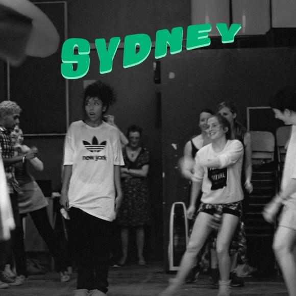 Sydney adult hip hop dance classes