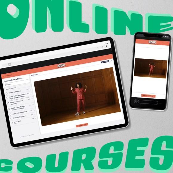 Online beginner adult dance class series