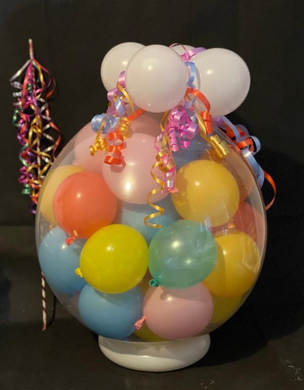 """18"""" mini balloon drop"""